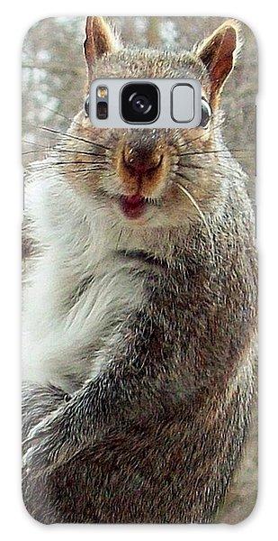 Earl The Squirrel Galaxy Case by Robert Orinski