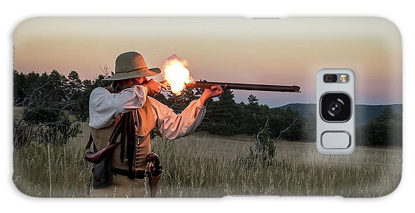 Early 1800's Flintlock Muzzleloader Blast Galaxy Case by Nadja Rider