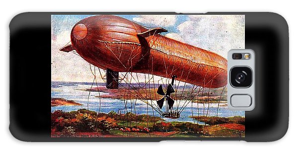 Early 1900s Military Airship Galaxy Case by Peter Gumaer Ogden