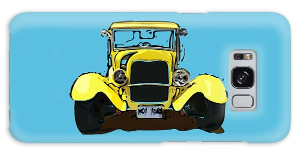 Early 1930s Ford Yellow Galaxy Case