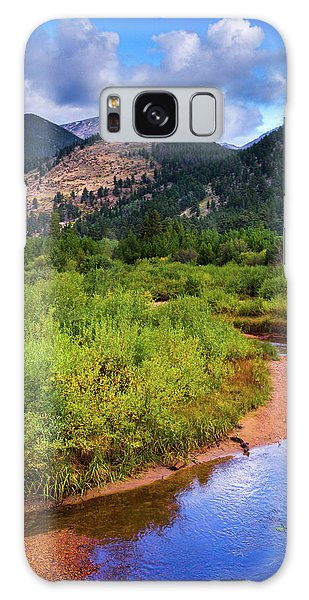 Early Autumn In Colorado Galaxy Case