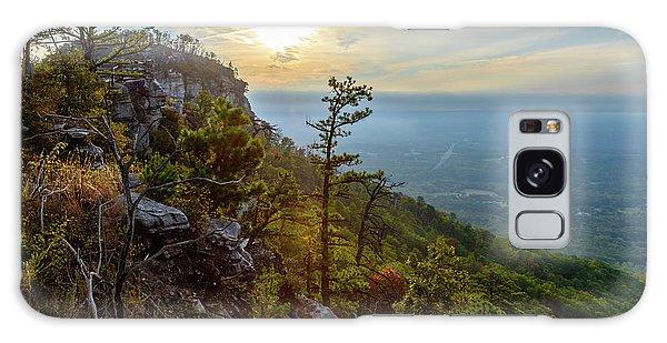 Early Autumn On Pilot Mountain Galaxy Case