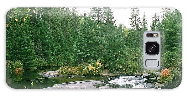 Early Autumn On The Madawaska River Galaxy Case