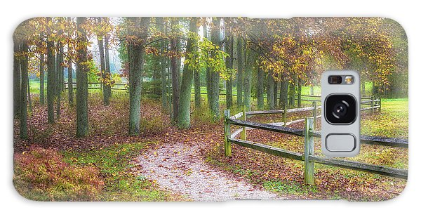 Foliage Galaxy Case - Early Autumn Stroll by Tom Mc Nemar