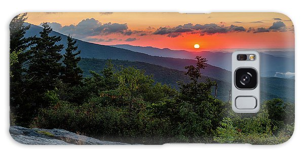 Blue Ridge Parkway Sunrise - Beacon Heights - North Carolina Galaxy Case