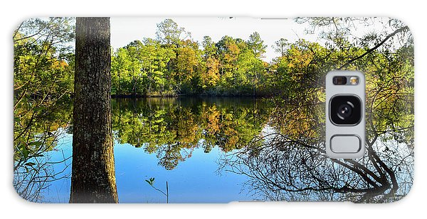 Early Fall Reflections Galaxy Case