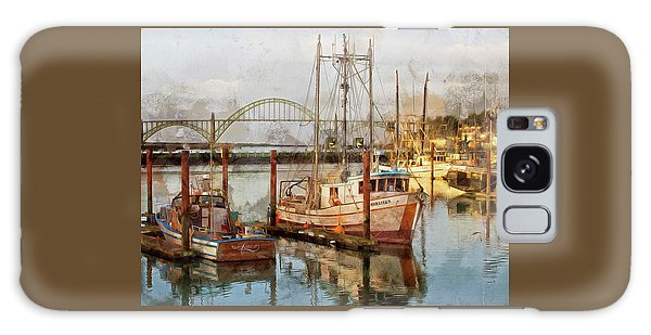 Early Light On Yaquina Bay Galaxy Case