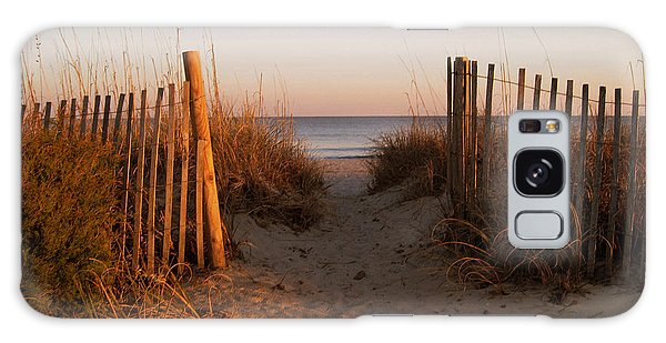 Early Morning At Myrtle Beach Sc Galaxy Case by Susanne Van Hulst