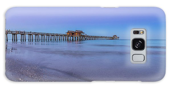 Early Morning At Naples Pier Galaxy Case