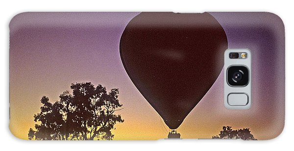 Early Morning Balloon Ride Galaxy Case