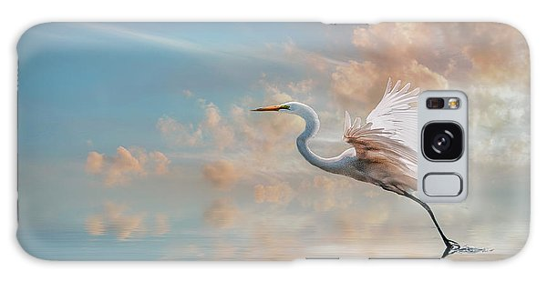 Early Morning Egret Galaxy Case by Brian Tarr