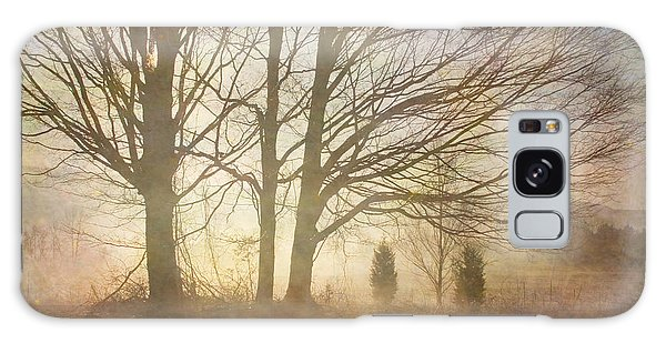 Early Morning Fog Galaxy Case by Betty  Pauwels