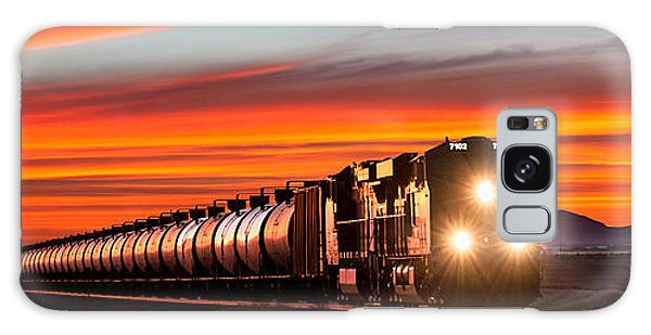 Train Galaxy S8 Case - Early Morning Haul by Todd Klassy
