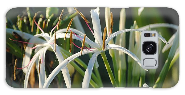 Early Morning Lily Galaxy Case by LeeAnn Kendall