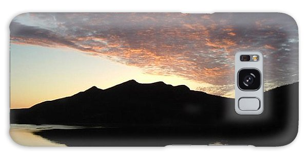 Early Morning Red Sky Galaxy Case by Barbara Griffin