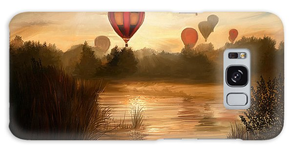 Hot Air Balloons Galaxy Case - Early Morning Rise by Dale Jackson