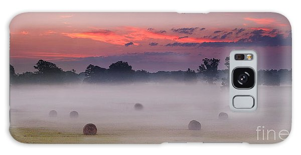 Early Morning Sunrise On The Natchez Trace Parkway In Mississippi Galaxy Case