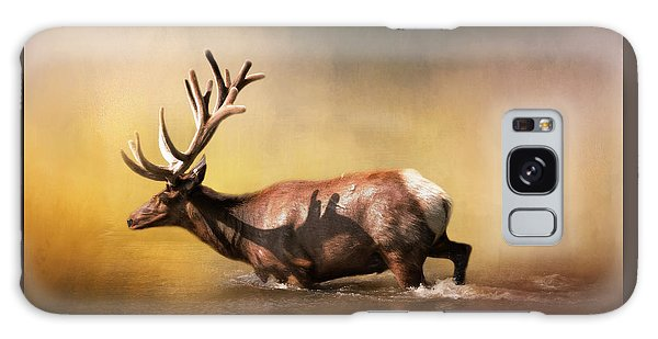 Antlers Galaxy Case - Early Morning Swim by David and Carol Kelly