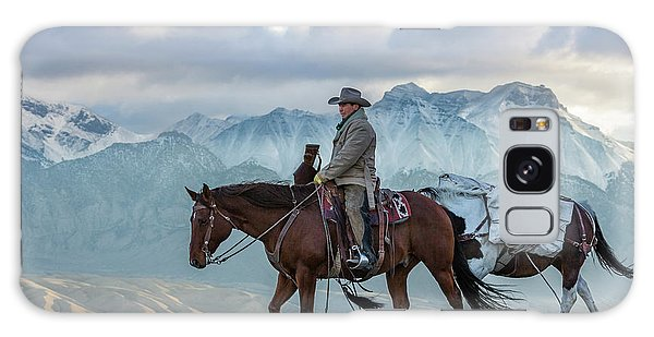 Early October Hunt Wild West Photography Art By Kaylyn Franks Galaxy Case