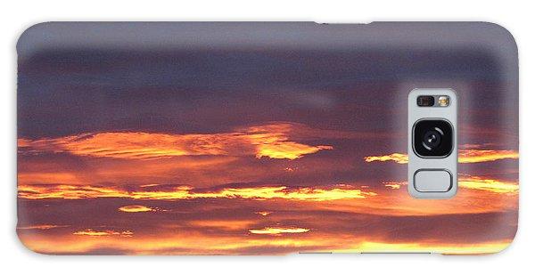 Early Prairie Sunrise Galaxy Case