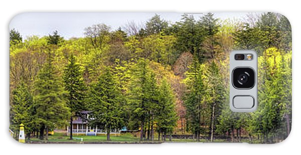 Early Spring Panorama Galaxy Case by David Patterson