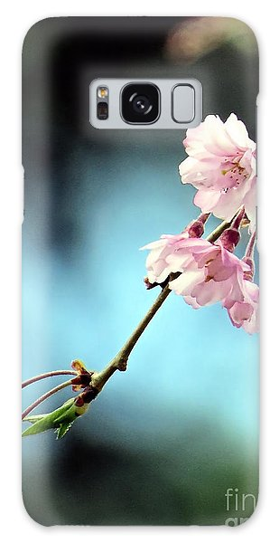 Early Spring Weeping Cherry  Galaxy Case by Janice Drew