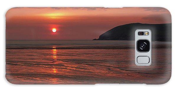 Early Summer On Croyde Beach In N Devon Galaxy Case