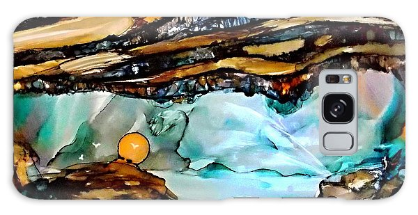 Earth Day Underground Paradise Alcohol Inks Galaxy Case