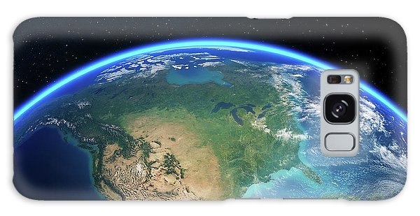 Usa Map Galaxy Case - Earth From Space North America by Johan Swanepoel