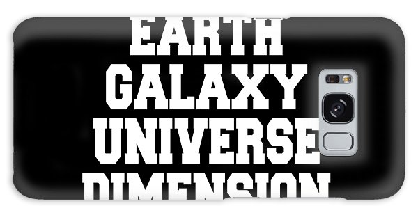 Earth Galaxy Universe Dimension Galaxy Case