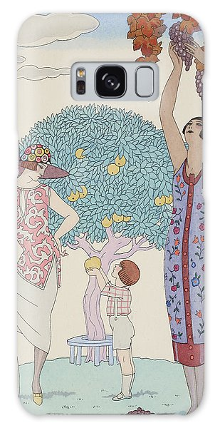Vintage Galaxy Case - Earth by Georges Barbier