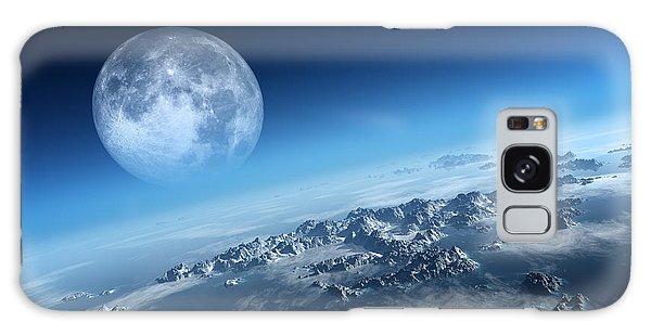 Earth Galaxy Case - Earth Icy Ocean Aerial View by Johan Swanepoel