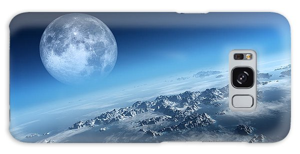 Moon Galaxy Case - Earth Icy Ocean Aerial View by Johan Swanepoel