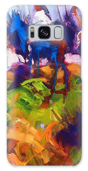 Earth People Galaxy Case by Les Leffingwell