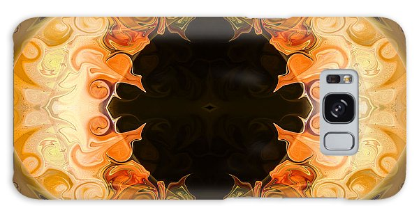 Earthly Undecided Bliss Abstract Organic Art By Omaste Witkowski Galaxy Case