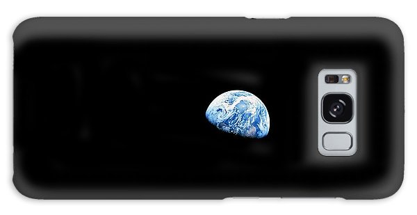 Earth Galaxy Case - Earthrise - The Original Apollo 8 Color Photograph by Nasa