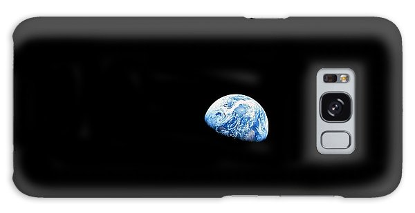 Earthrise - The Original Apollo 8 Color Photograph Galaxy Case