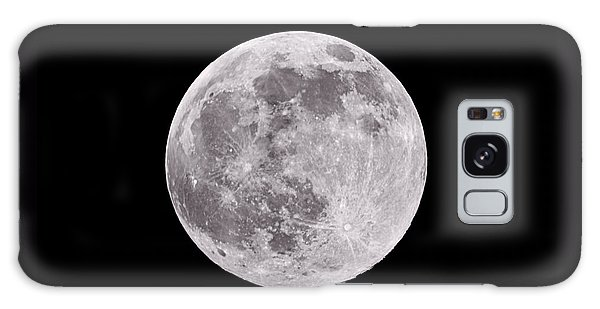 Moon Galaxy Case - Earth's Moon by Steve Gadomski