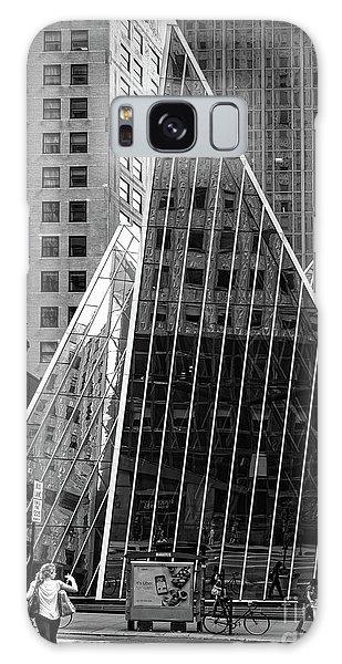 East 42nd Street, New York City  -17663-bw Galaxy Case by John Bald