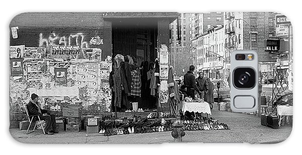 Galaxy Case featuring the photograph East 7th Street 1979 by Dave Beckerman