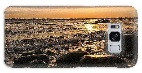 Ocean Sunset Galaxy S8 Case - East Coast Sunset 1 by Christine Sharp