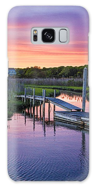 East Moriches Sunset Galaxy Case