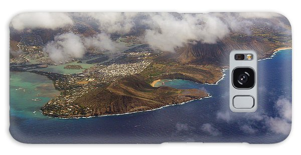 East Oahu From The Air Galaxy Case