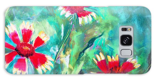 East Texas Wild Flowers Galaxy Case