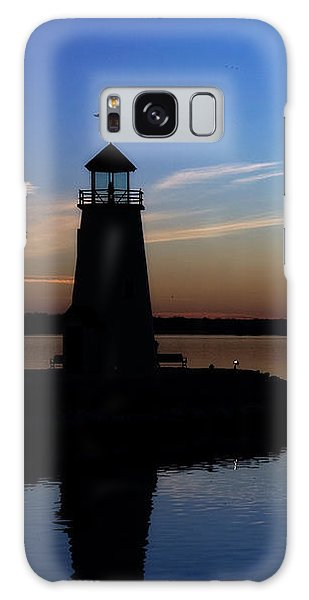East Warf Sunset Galaxy Case by Lana Trussell