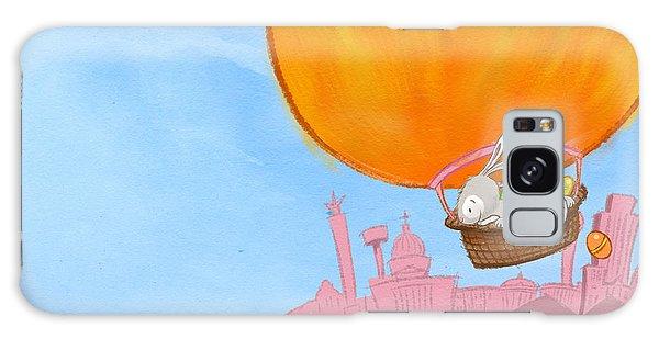Easter Balloon Galaxy Case
