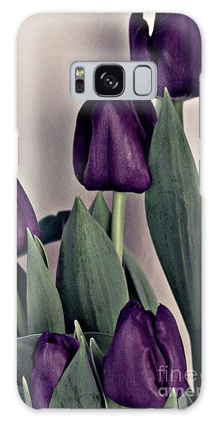 A Display Of Tulips Galaxy Case