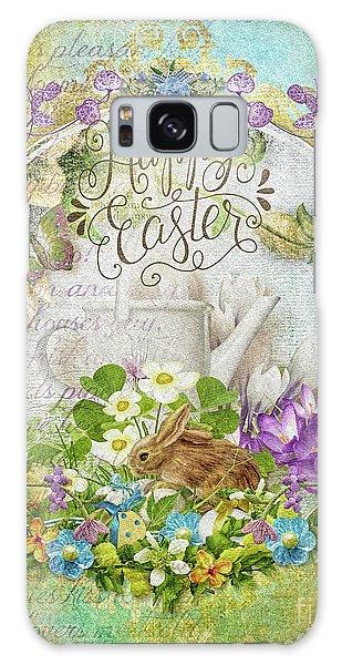 Easter Breakfast Galaxy Case by Mo T