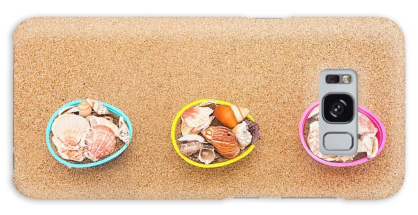 Easter Egg Baskets On Beach Galaxy Case