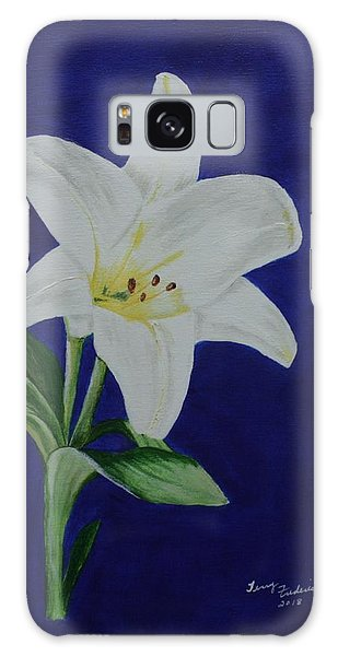 Easter Lily Galaxy Case